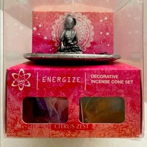 NEW-Buddha Incense Set-Energize:Citrus Zest